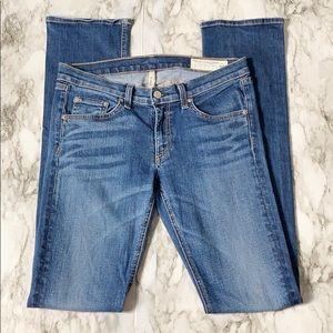 Rag & Bone Cigarette Leg Skinny Jeans Size 28